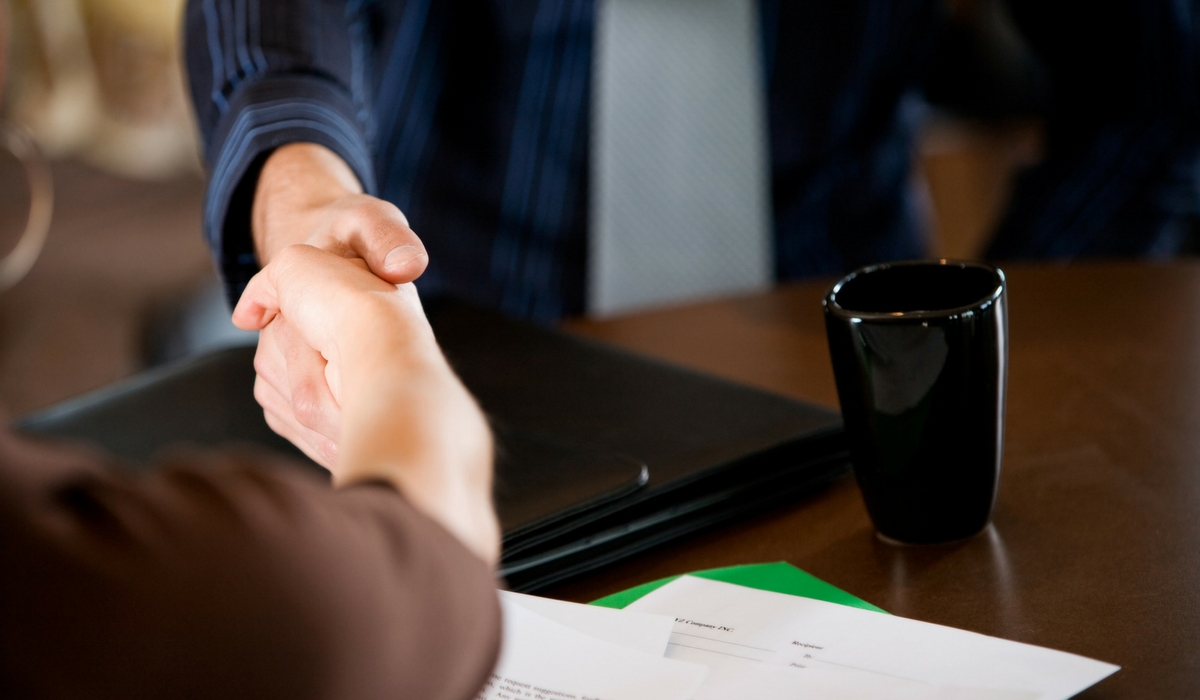 No Fault Divorce Handshake
