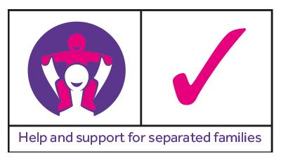 Separated Families Logo Rectangle