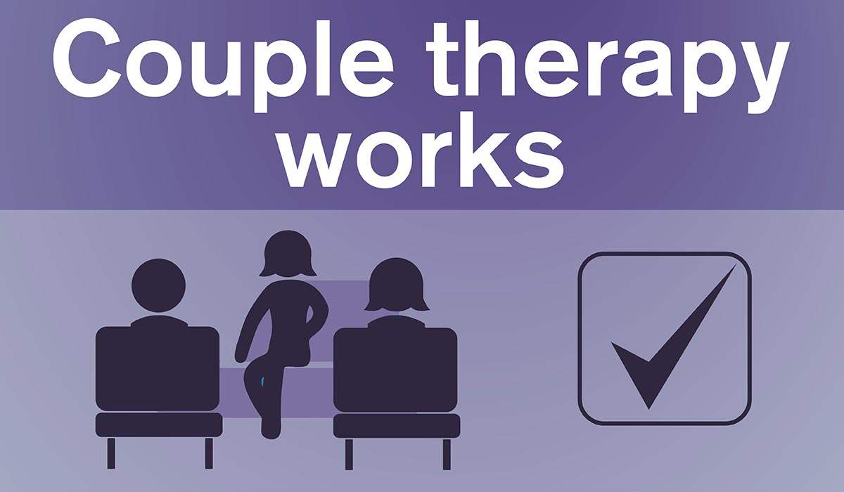 Couple therapy works graphic