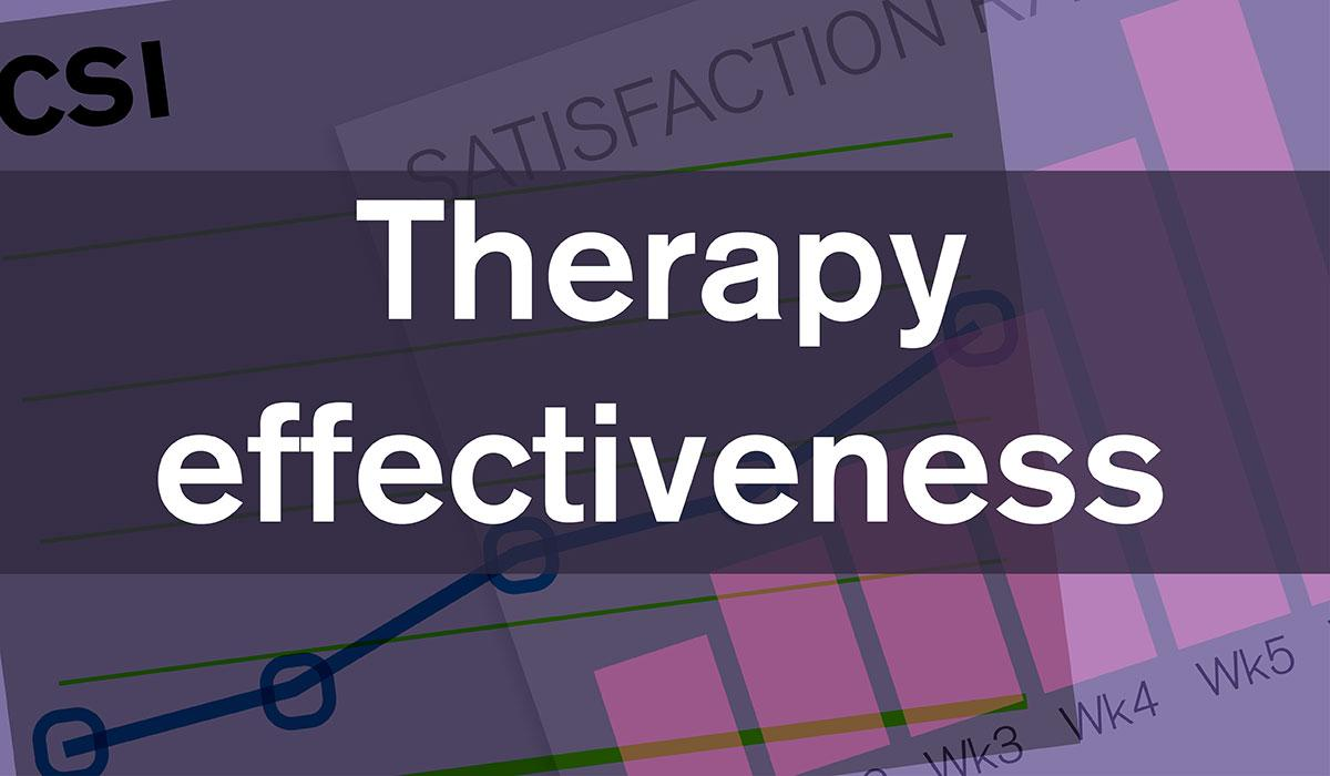 Therapy Effectiveness